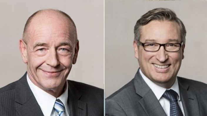 Rolf Tups und Andreas Hartnigk