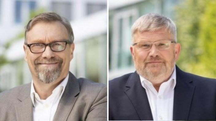 Stefan Wiedon und Walter Schmidt