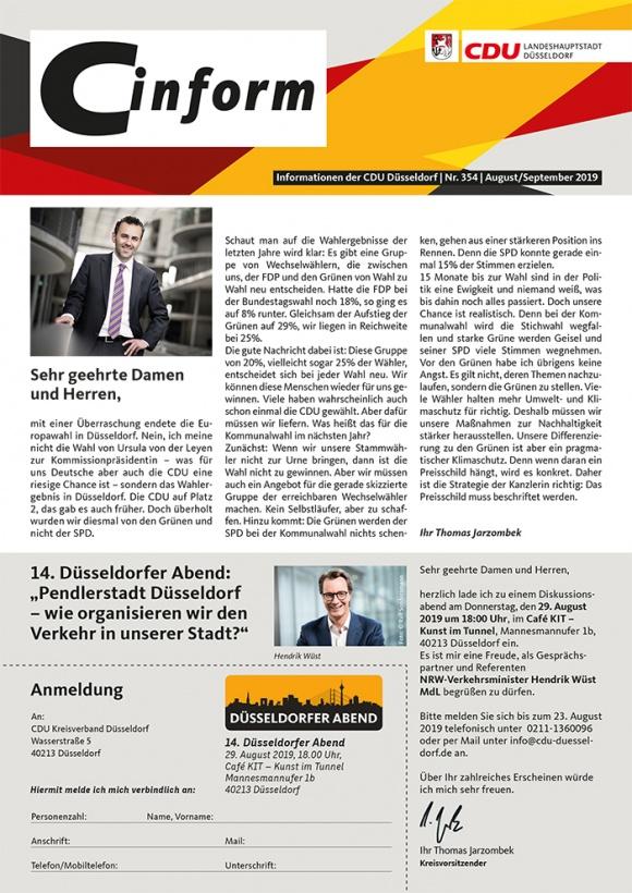 C-Inform: Mitgliedermagazin August/September 2019