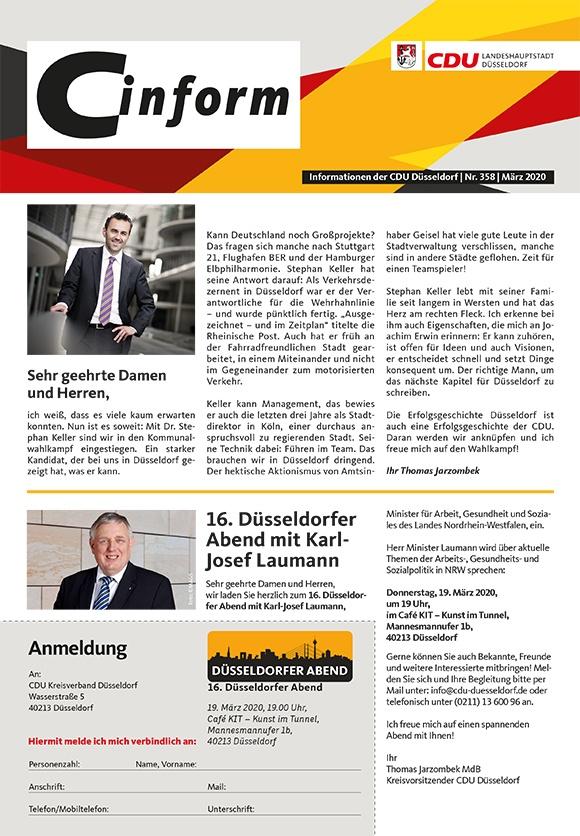 C-Inform: Mitgliedermagazin März 2020