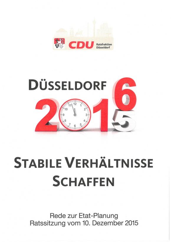 Haushaltsrede 2016