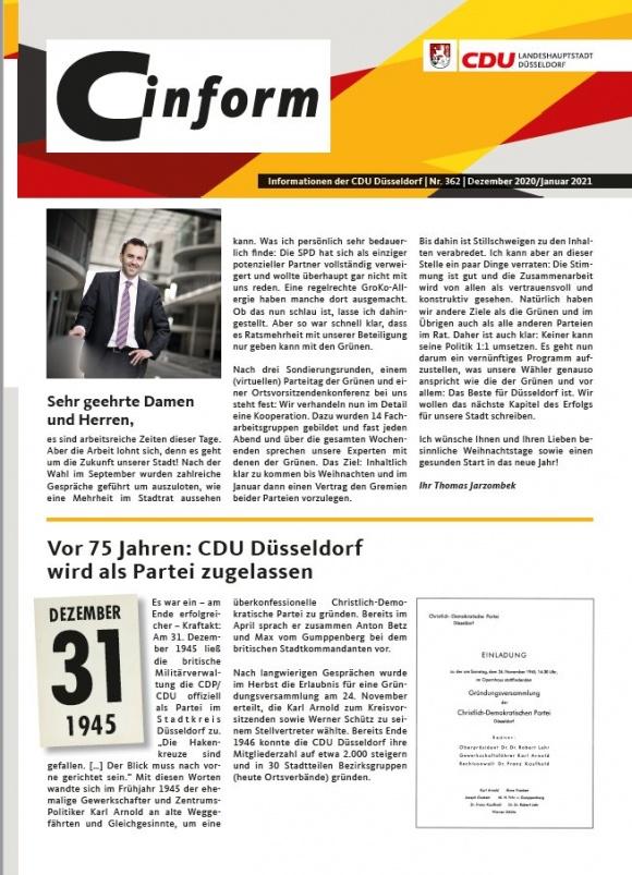 C-Inform: Mitgliedermagazin Dezember 2020/Januar 2021
